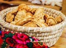 Salling of bakery Royalty Free Stock Image