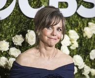 Sally Field. Actress Sally Field arrives at the 71st Annual Tony Awards at Radio City Music Hall, on June 11, 2017.  The Oscar winning actress was nominated Royalty Free Stock Photography