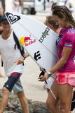 Sally Fitzgibbons - Roxy Pro 2011 Stock Photography