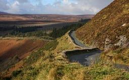 Sally Gap Road - Irlanda imagem de stock royalty free