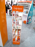 Sally hansen products exhibition stand. Its photo of sally hansen products exhibition stand Event - Professional Beauty Expo 2015, Mumbai Date - 6th Oct 2015 royalty free stock images