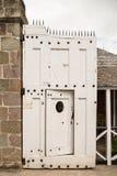 Sally Port zu einem alten Fort Lizenzfreies Stockbild