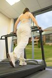 Sallyrunningonthetreadmill Stock Images