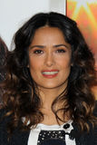 Salma Hayek. LOS ANGELES - FEB 24:  Salma Hayek Teams Up With National Milk Mustache Got Milk? Campaign To Launch The Breakfast Project at the L'Ermitage Beverly Royalty Free Stock Image
