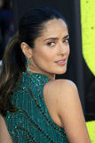 Salma Hayek arrives at the  Stock Image