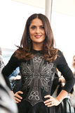 Salma Hayek arriving at the Royalty Free Stock Photos