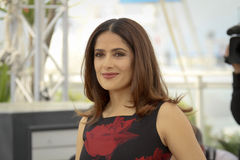 Salma Hayek. Attends the 'Il Racconto Dei Racconti' ('Tale of Tales') photocall during the 68th annual Cannes Film Festival on May 14, 2015 in Cannes, France Royalty Free Stock Photo