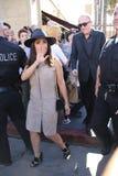 Salma Hayek. Attends Walk of Fame Ceremony Stock Image