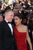 Salma Hayek en haar echtgenoot Francois Pinault Royalty-vrije Stock Foto's