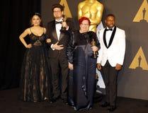 Salma Hayek, Kristof Deak, Anna Udvardy και Δαβίδ Oyelowo Στοκ Φωτογραφία