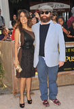 Salma Hayek, Zach Galifianakis Royalty Free Stock Photography