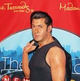 Salman Khan i Wax royaltyfria foton