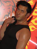 Salman Khan - wax statue royalty free stock images