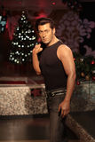 Salman Khan. Wax statue at Madame Tussauds in London royalty free stock photos
