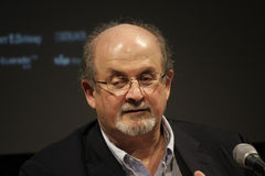 Salman Rushdie Stock Image