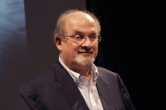 Salman Rushdie stock photo