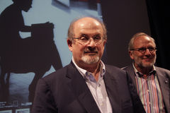 Salman Rushdie Stock Images