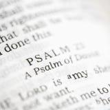 Salmo 23. Imágenes de archivo libres de regalías