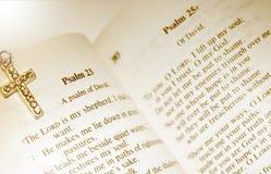 Salmo 23 - O senhor Ser Meu Pastor Foto de Stock