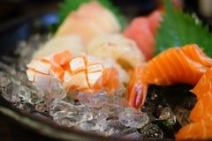 Salmom sashimi zdjęcie stock