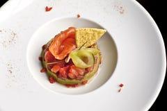 Salmon блюдо Стоковая Фотография