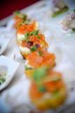 Salmon закуски Стоковое Изображение RF