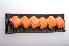 Salmon крен суш Стоковое Изображение RF