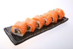 Salmon крен суш Стоковые Изображения