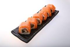 Salmon крен суш Стоковое Изображение