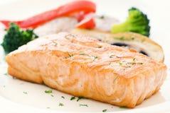 salmon овощ Стоковые Изображения RF