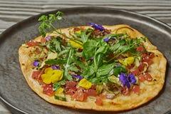 Salmon пицца Стоковое Изображение RF