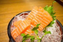 Salmon сасими Стоковое Изображение