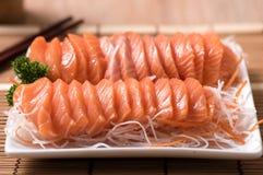 Salmon сасими Стоковое Изображение RF
