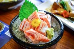 Salmon сасими Стоковая Фотография