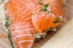 salmon соль Стоковое Изображение RF
