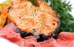salmon стейк стоковые фото