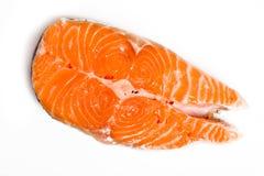 salmon стейк Стоковые Фотографии RF