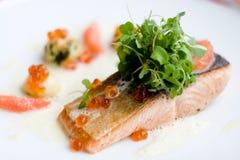 Salmon стейк Стоковые Изображения