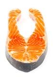 Salmon стейк Стоковое Изображение