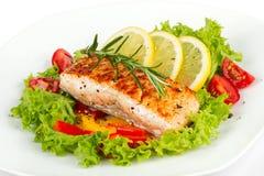 Salmon филе Стоковое Фото