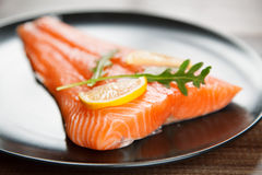 Salmon филе Стоковое Изображение RF