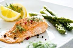 Salmon Royalty Free Stock Photography