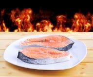 Salmon. Royalty Free Stock Photo