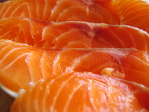 Salmon. MEAT CLOSE-UP Stock Image