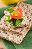 Salmon Appetizer Royalty Free Stock Photo