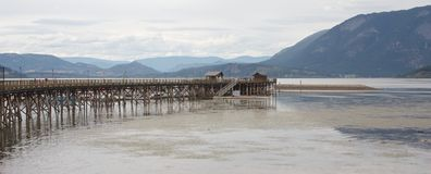 Salmon Arm Pier Royalty Free Stock Photo