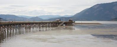 Salmon Arm Pier Royalty Free Stock Photo