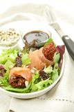 Salmon and avocado salad Royalty Free Stock Photography