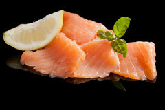 Salmon background. Royalty Free Stock Photo