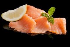 Salmon background. royalty free stock photo